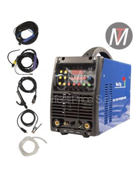 NX 300 POWER MIX – INVERTER MULTI PROCESSO 4x1 – SALDATRICE TIG AC DC MMA PLASMA