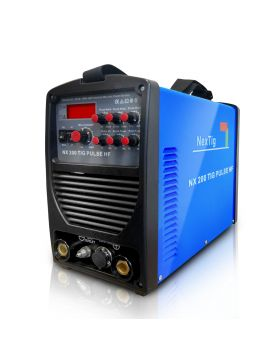 NX 200 TIG PULS HF – SALDATRICE INVERTER TIG DC ALTA FREQUENZA PULSATA 200 AMP