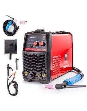 SALDATRICE INVERTER TIG ALTA FREQUENZA 200 AMP TIGMIG INVERTER TM 200 HF